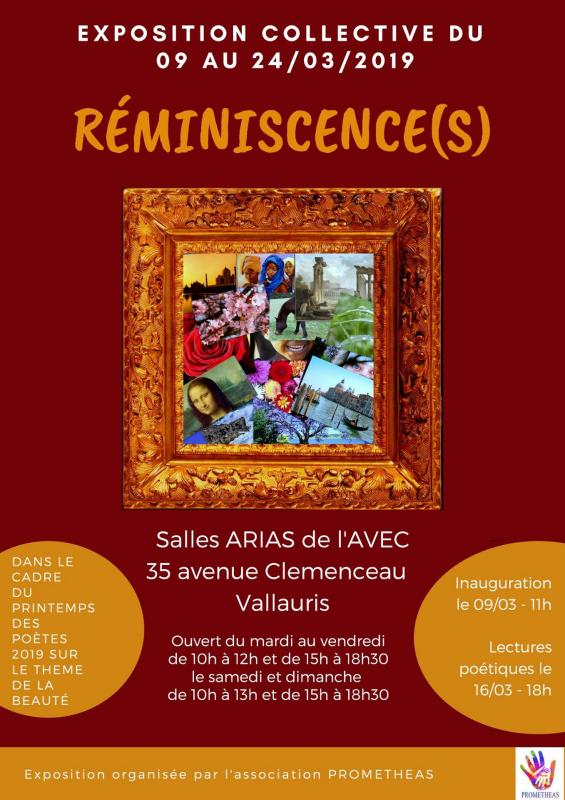Affiche reminiscences